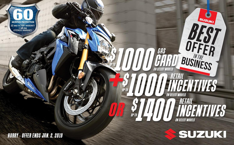 Suzuki promotions